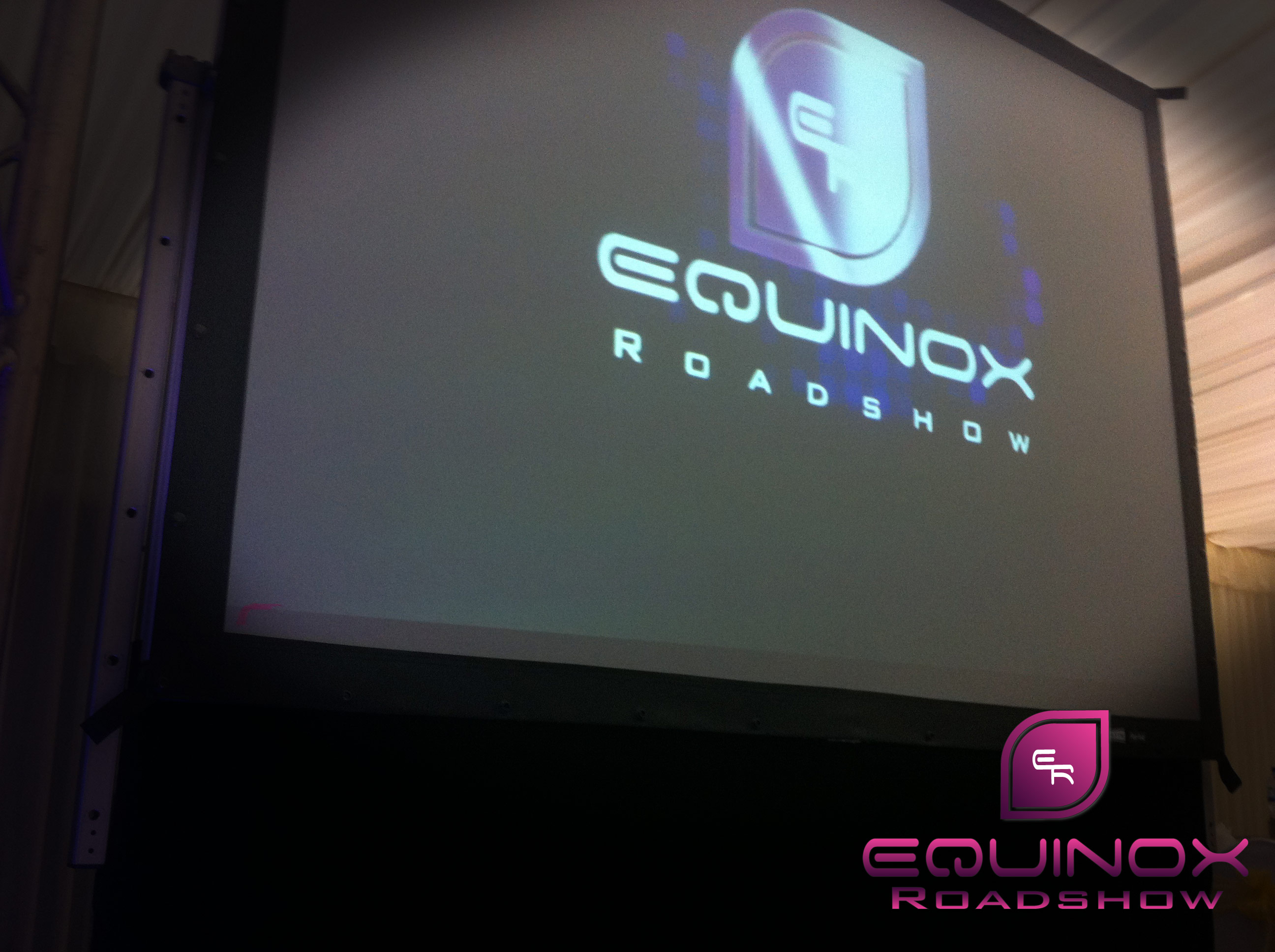 Equinox Projection Screen Hire