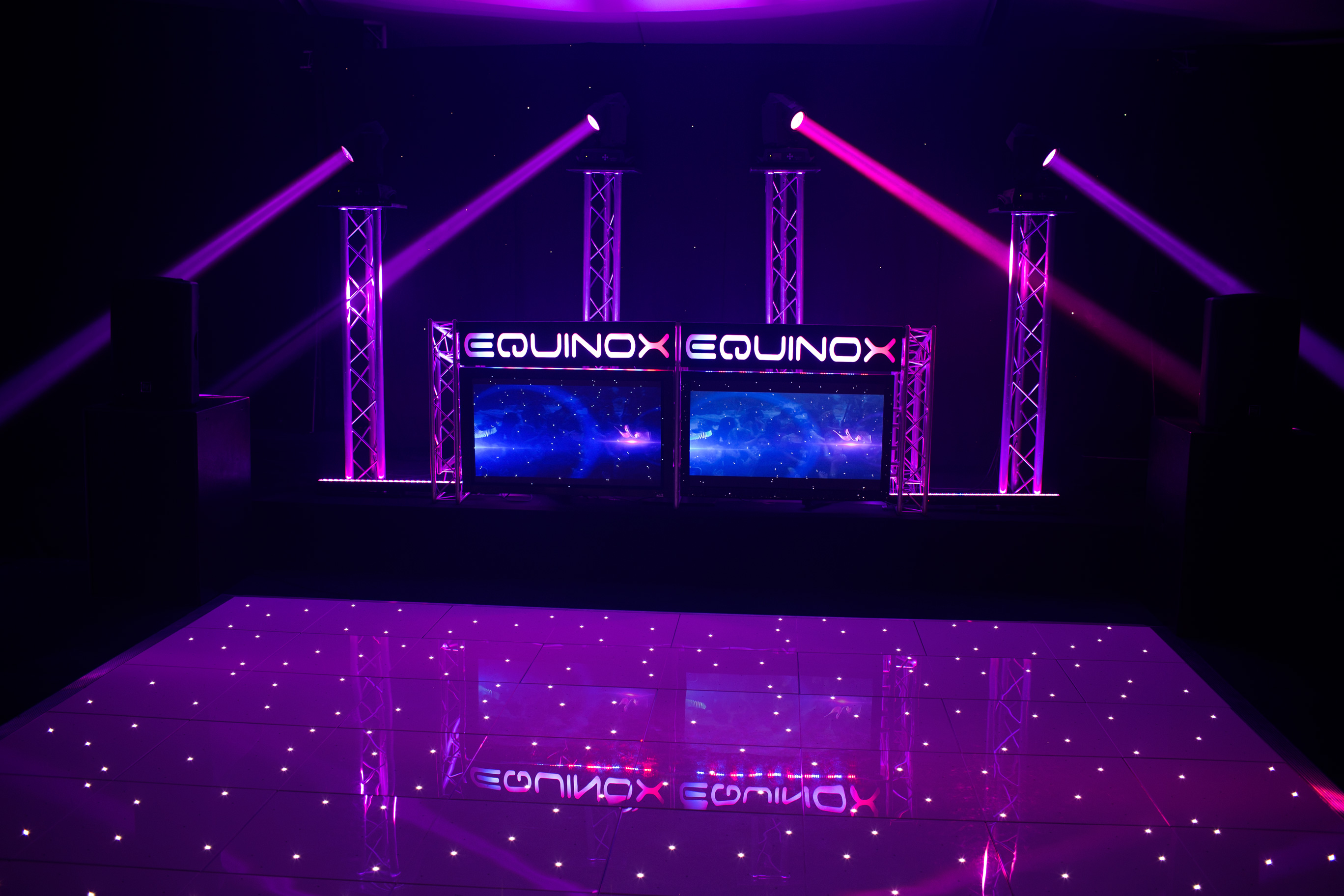 Equinox Classic Package with Starlit Dancefloor