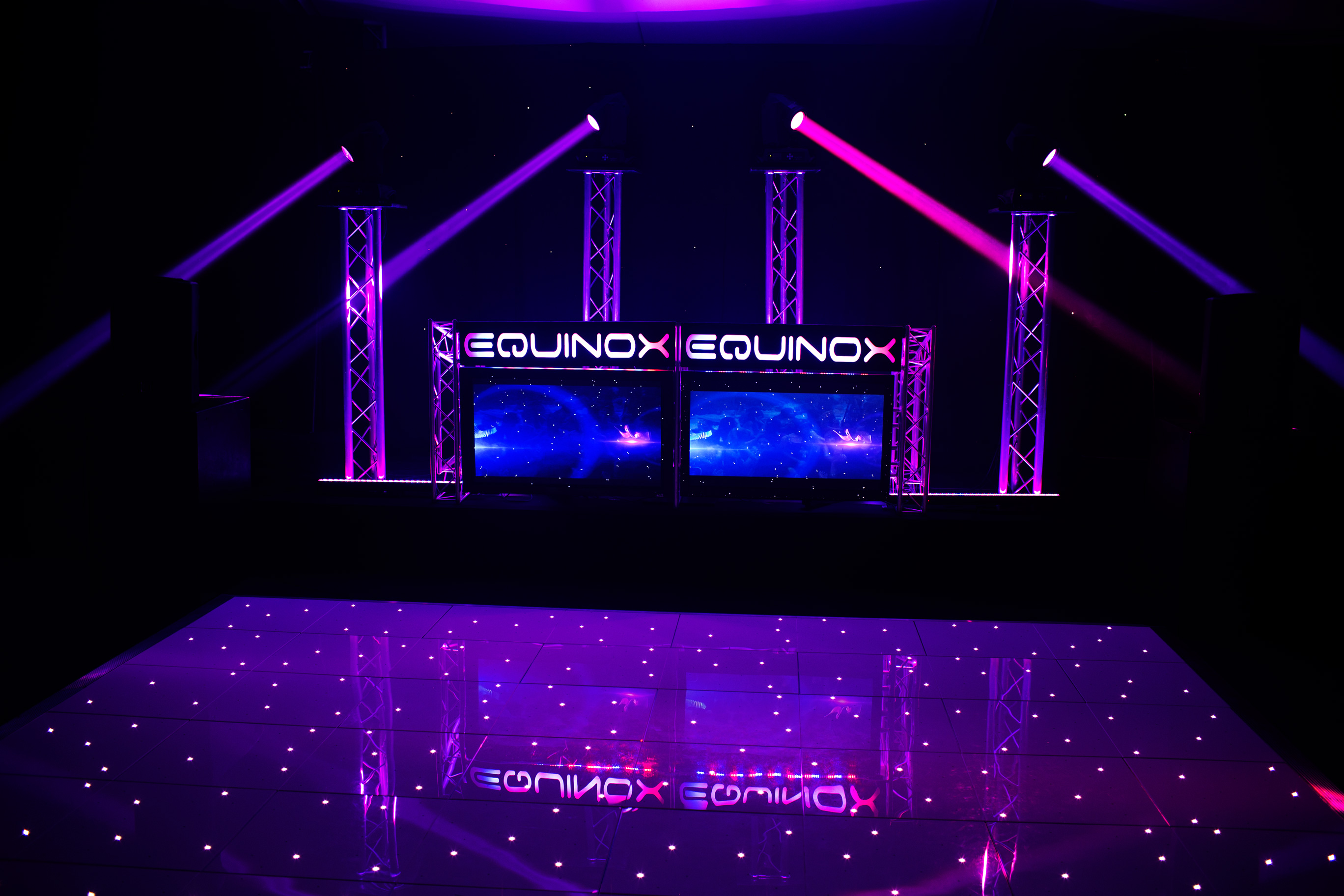 Equinox Classic Package with LED Dancefloor