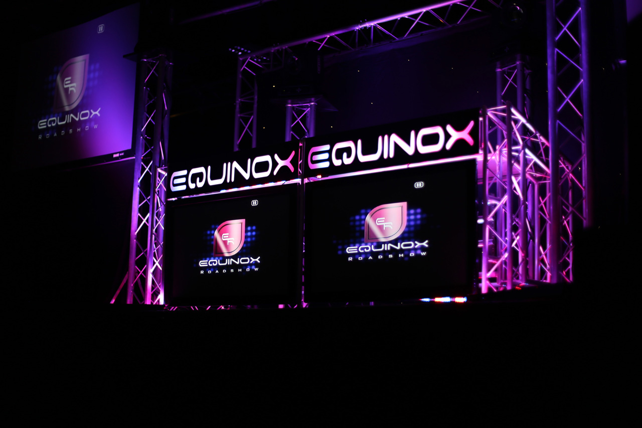 LED Video wall and DJ Booth Hire at East Midlands Conference Centre